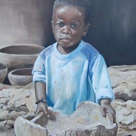 Schilderij Gwandoya